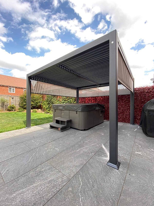 Maranza 3.5 x 3.6m vented roof gazebo