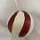 Thumbnail: Candycane stripe ball