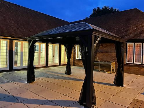 Lorenzo Grande  Deluxe 10x12 Galvanized Roof