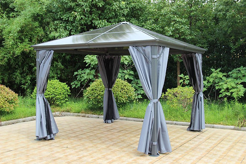 Runcton Gazebo 3X3 Grey