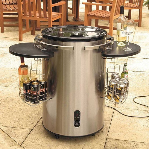 STAINLESS STEEL ELECTRIC PARTY COOLER