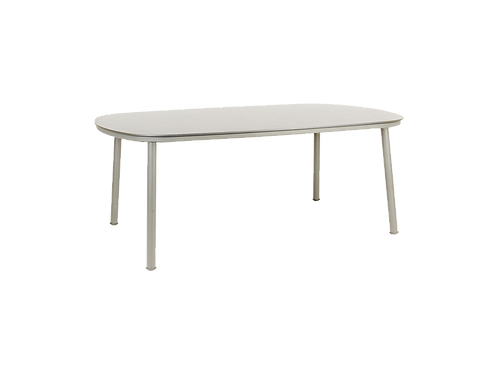 Cordial Beige Dining Table Sand HPL Top 2.0m x 1.2m