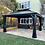 Thumbnail: Medusa 10x14 Galvanized Roof with Curtain Sides