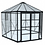 Thumbnail: Palermo 12ft - 3.6m Hexagonal Garden House - Gazebo - Posh Green House