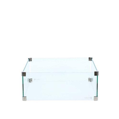 Cosi square glass set large