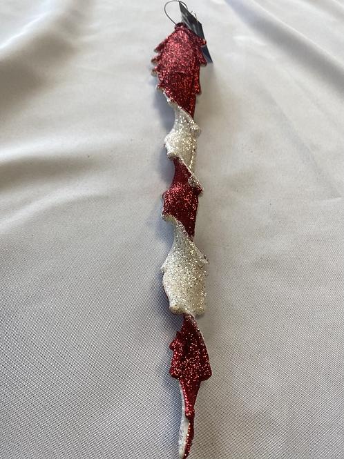 Candycane icicle stick