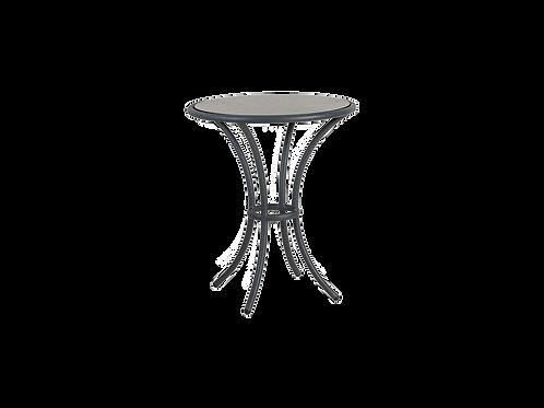 Cordial Grey Bistro table pebble HPL Top 0.625m