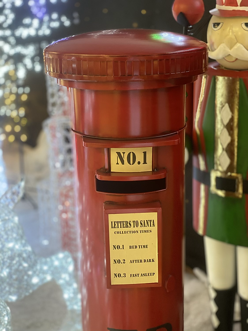 4.5ft Santa's letters postbox