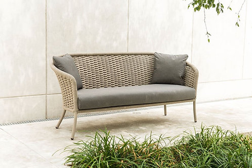 Cordial 3 Seater Sofa Beige Rope