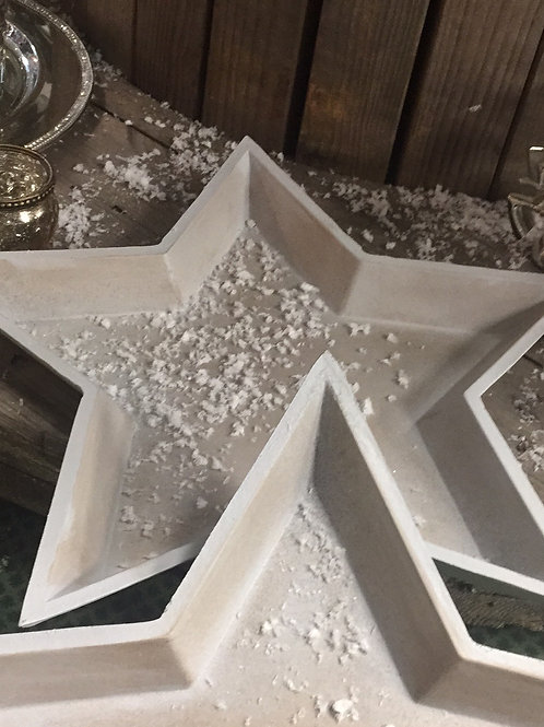 Star Shape Candle Tray