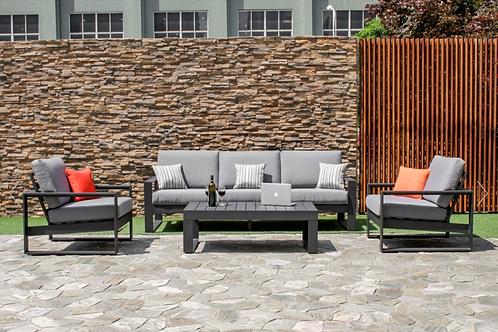 Amalfi 3 Seat Sofa Set