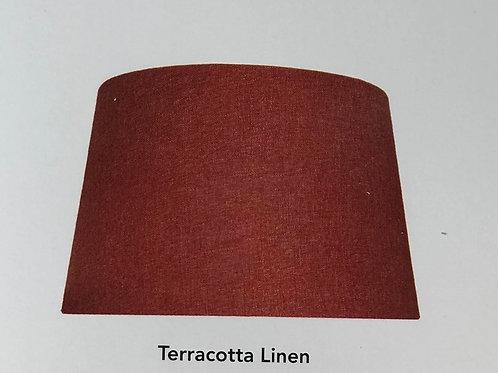 Terracotta Linen Shade
