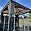 Thumbnail: Knightsbridge Deluxe 3x3 Polycarbonate Roof Gazebo + Curtains + Nets