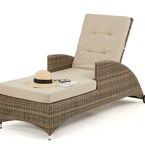 WINCHESTER RECLINING SUN BED LOUNGER