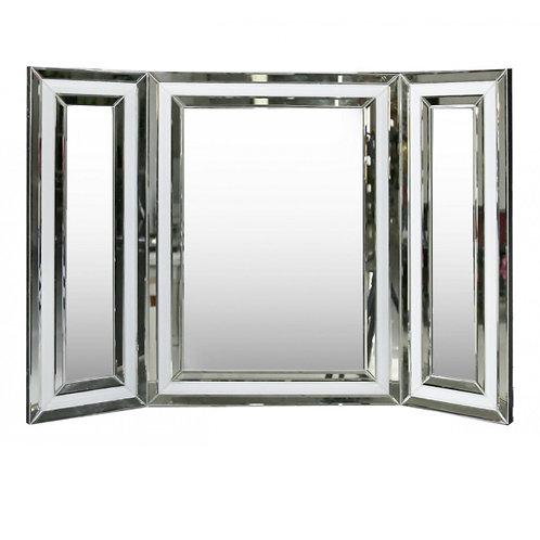 Manhattan Vanity Mirror White with Mirror