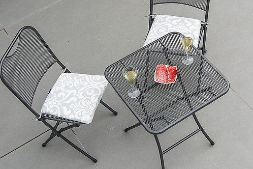 Portofino Tea For 2 Folding Set 0.6×0.6m without cushion