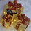 Thumbnail: Set of 3 red and gold presents