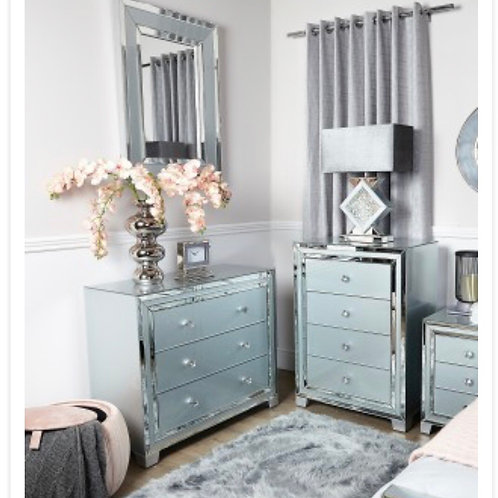 Grey Manhattan Wall Mirror