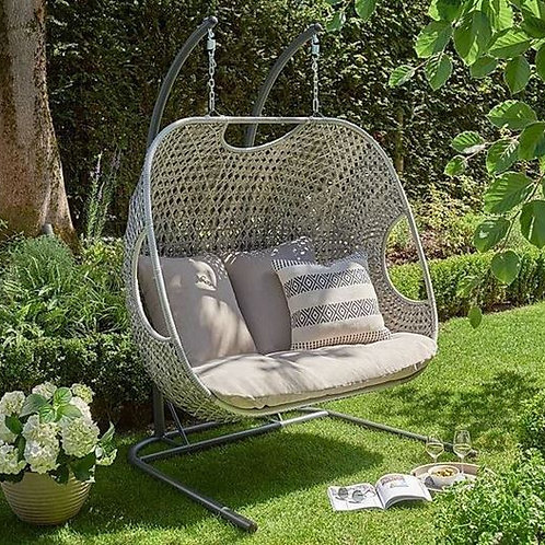 Double swing chair
