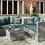 Thumbnail: Fiji Corner Sofa Suite with Corner Cushion Box