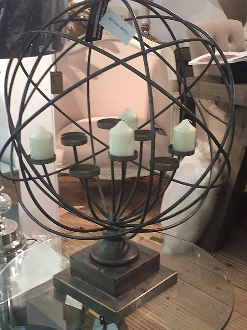 Maitland Globe Votive Holder