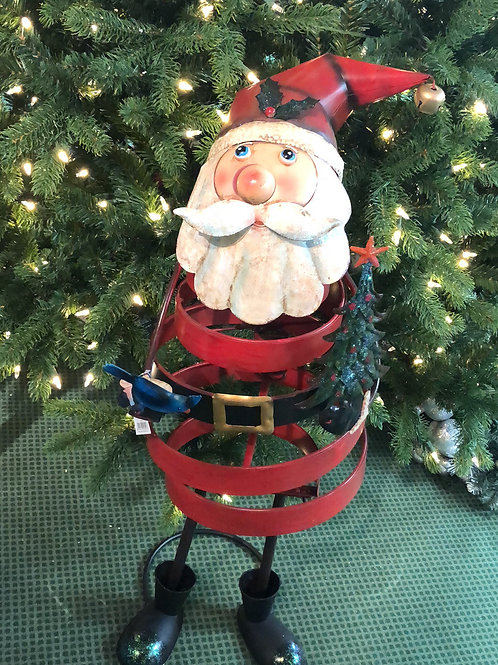 Bouncy Santa