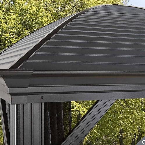 Lorenzo 10ft x 14ft (2.88 x4.13m) Aluminium Frame Sun Shelter with Galvanised St