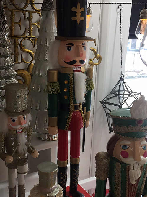Red And Green Nutcracker 2ft