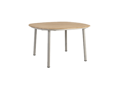 Cordial Beige Dining Table Roble Top 1.2m x 1.2m