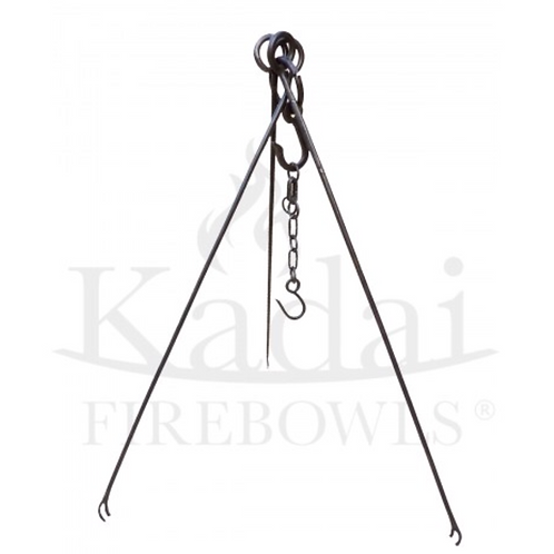 COOKING TRIPOD WITH CHAIN & HOOK