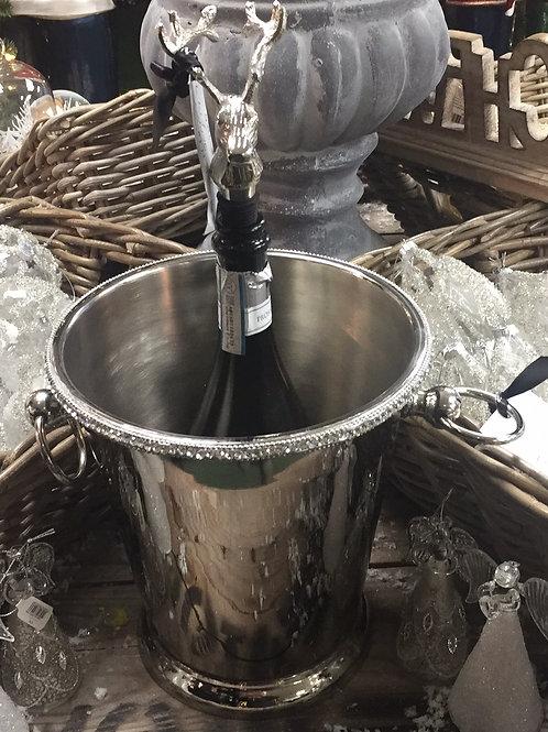 Jewelled Ice Bucket