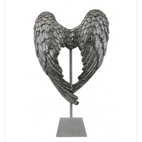 Double Angel Wings on Stand