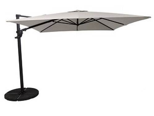 Norfolk Deluxe 3m Square Cantilevered Parasol