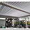 Thumbnail: Vented Roof 3x3.6m Maranza Pergola/Gazebo
