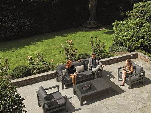 LIFE Delta Lounge Set with firepit option
