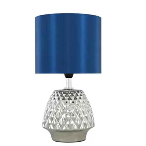 Chrome Table Lamp 34cm