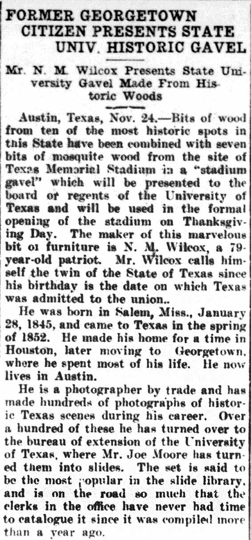 Jan. 2, 1925   Georgetown Megaphone