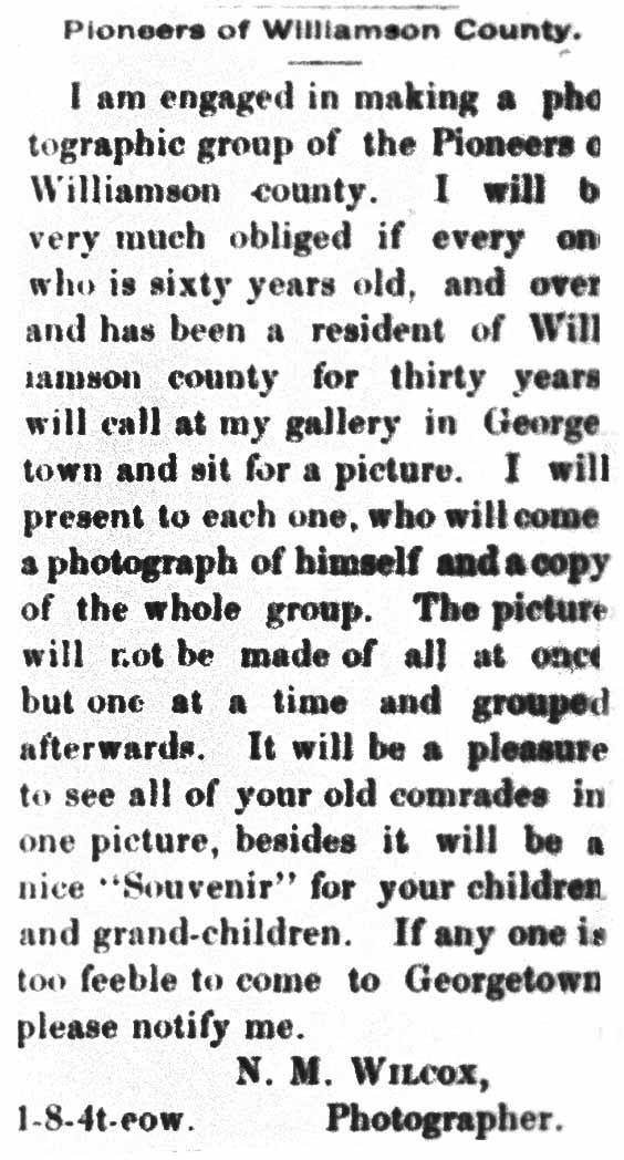 July 26, 1894    Williamson County Sun