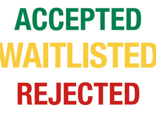 Waitlisted? Here's what you should do - immediately!