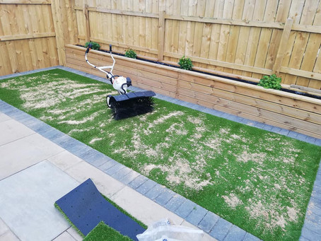 Artificial Lawn maintenance in Guisborough