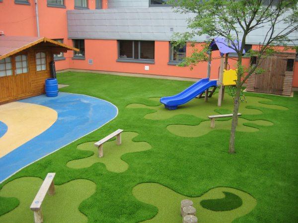 Artificial Grass Children's Park