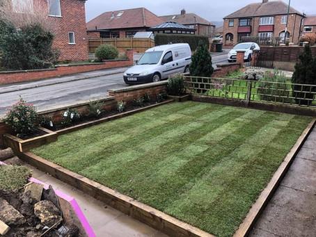 Landscape gardening in Guisborough