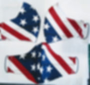 US Flag facemask
