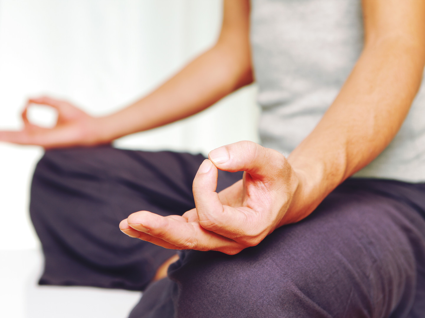 Yoga meditation mudra