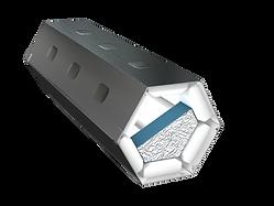 FST-Kabelbox Bauform sechseckig Kabelbox Typ R6