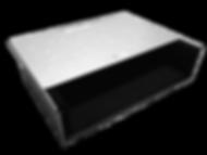FST-Akustikbox Bauform vereckig