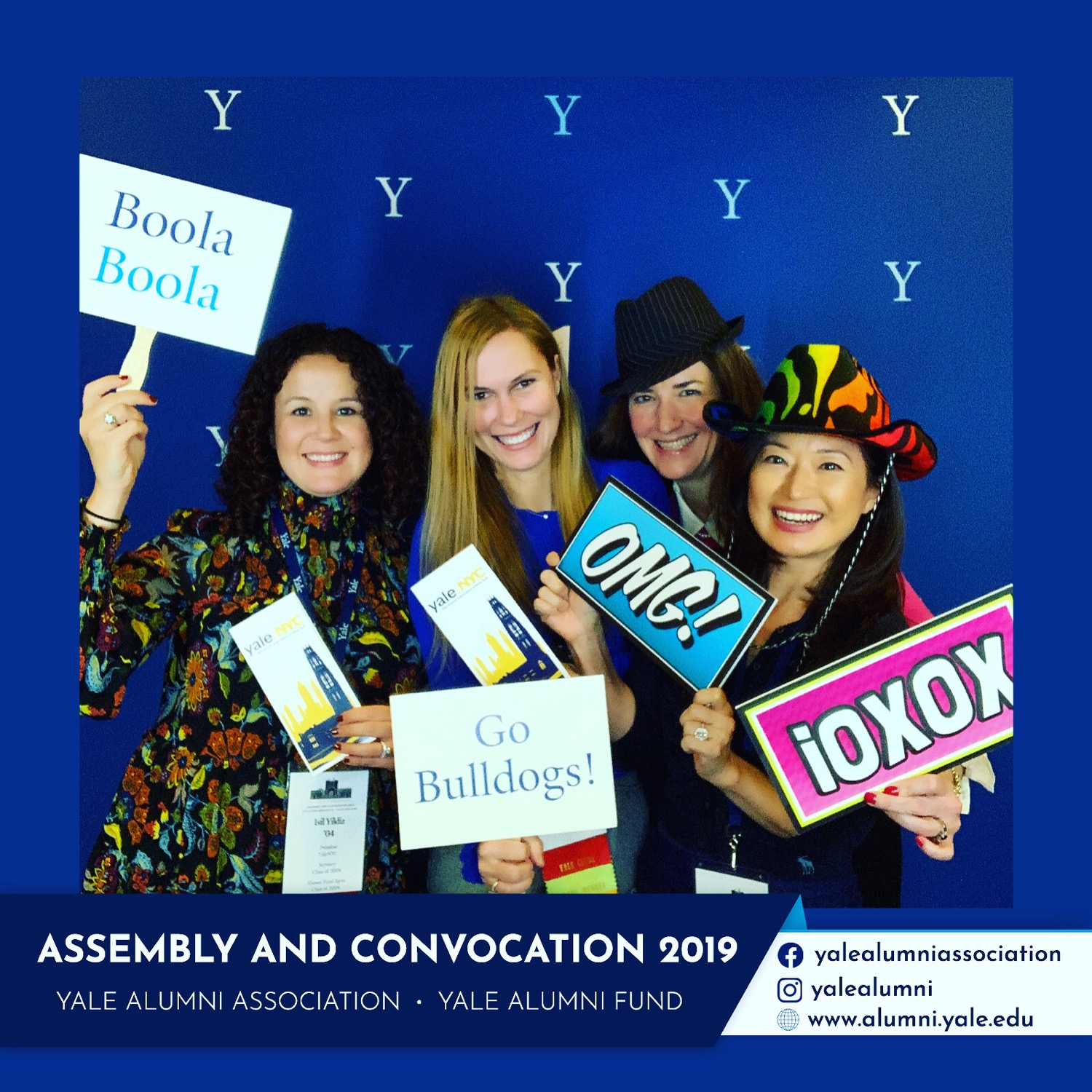 With fellow Yale.NYC Board members