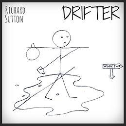 Artwork for the folk-rock single, Drifter