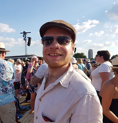Richard at Hyde Park, 2018
