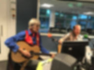 Richard Sutton and Graham Dee at BBC Radio Cambridgeshir
